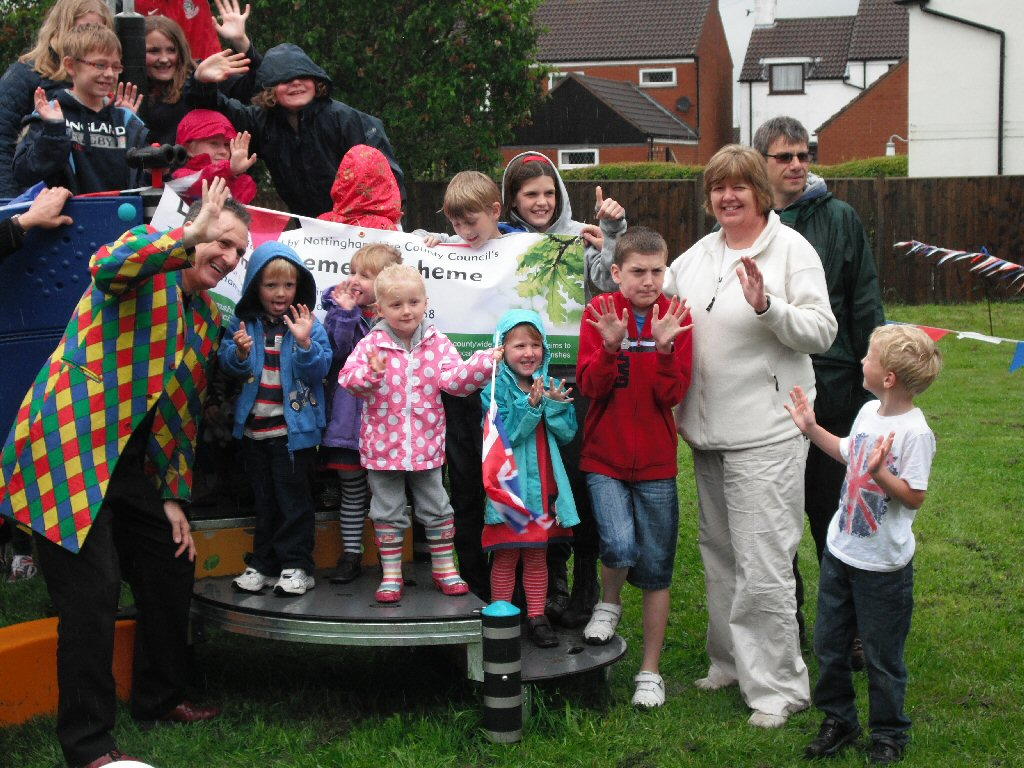 Official Opening of the Play Area on Sunday 3rd June 2012