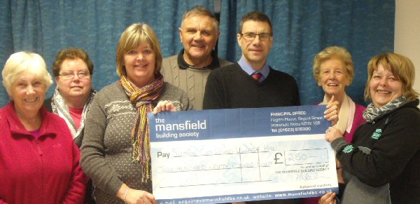 Mansfield Building Society Cheque - January 2013