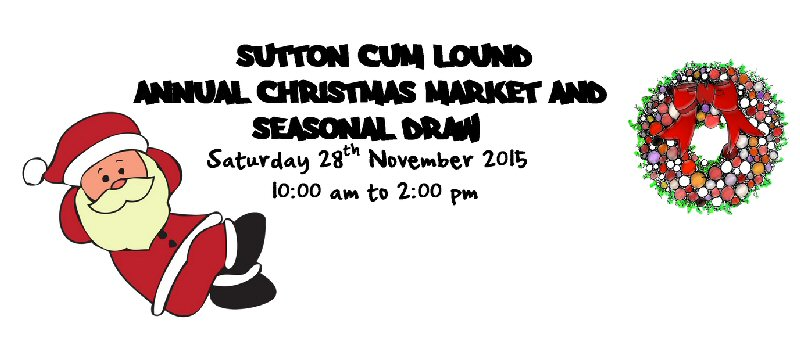 Christmas Market and Seasonal Draw - 28 November 2015