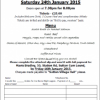13th Annual Burns Night (Updated) – 24 January 2015
