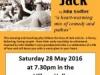 Happy Jack – 28 May 2016