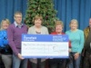 Village Hall receives £500 donation from Mansfield Building Society